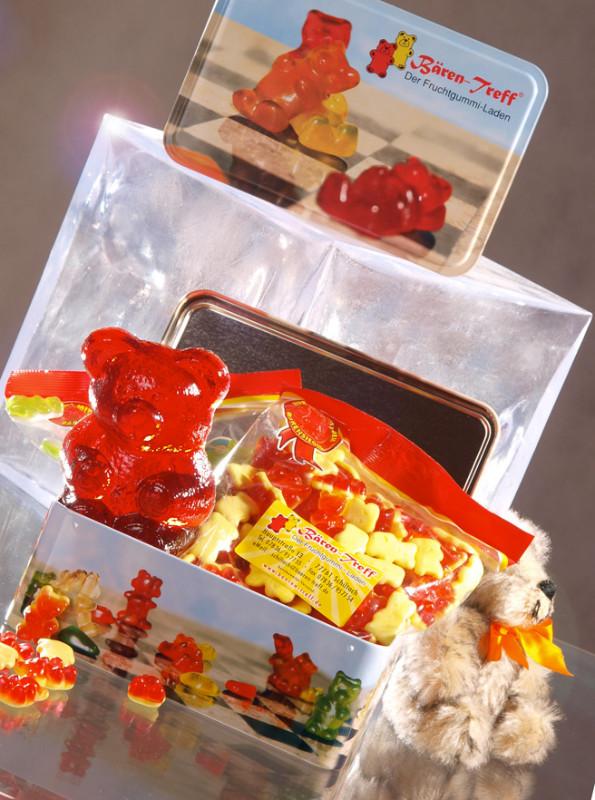 Produktfotografie (Auftrag: Produkte von Bären-Treff Fruchtgummi-Kette)