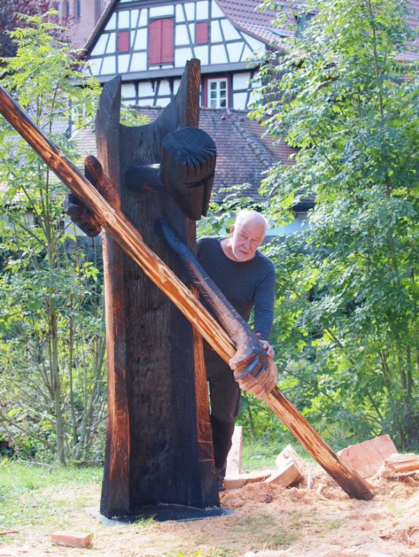 Kunstfotografie (Auftrag: Bildhauer Wilfried Duwentester für Stadt Schiltach)