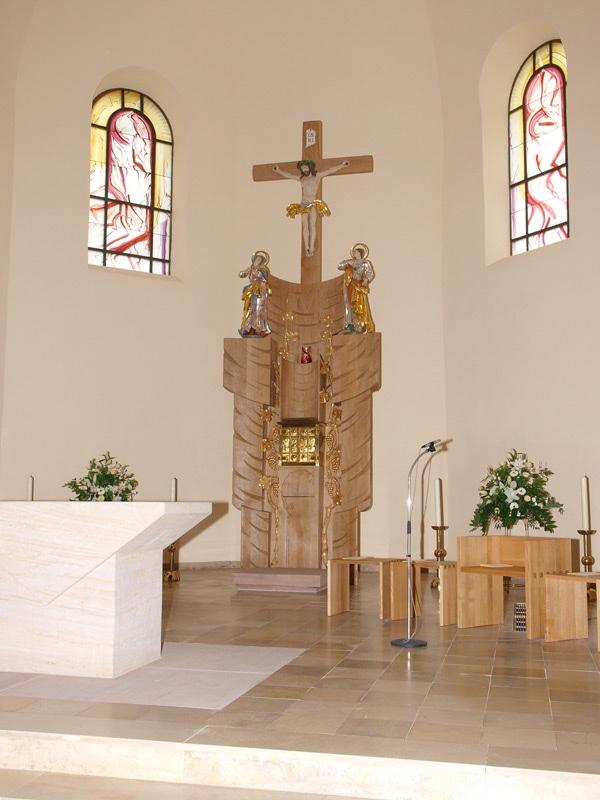 Produktbilder (Altar in Albersbösch, Künsterlin: Andrea Wörner)