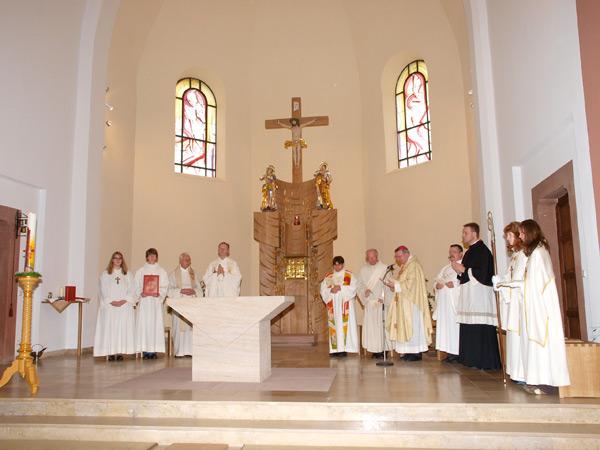 Altarweihe Albersbösch